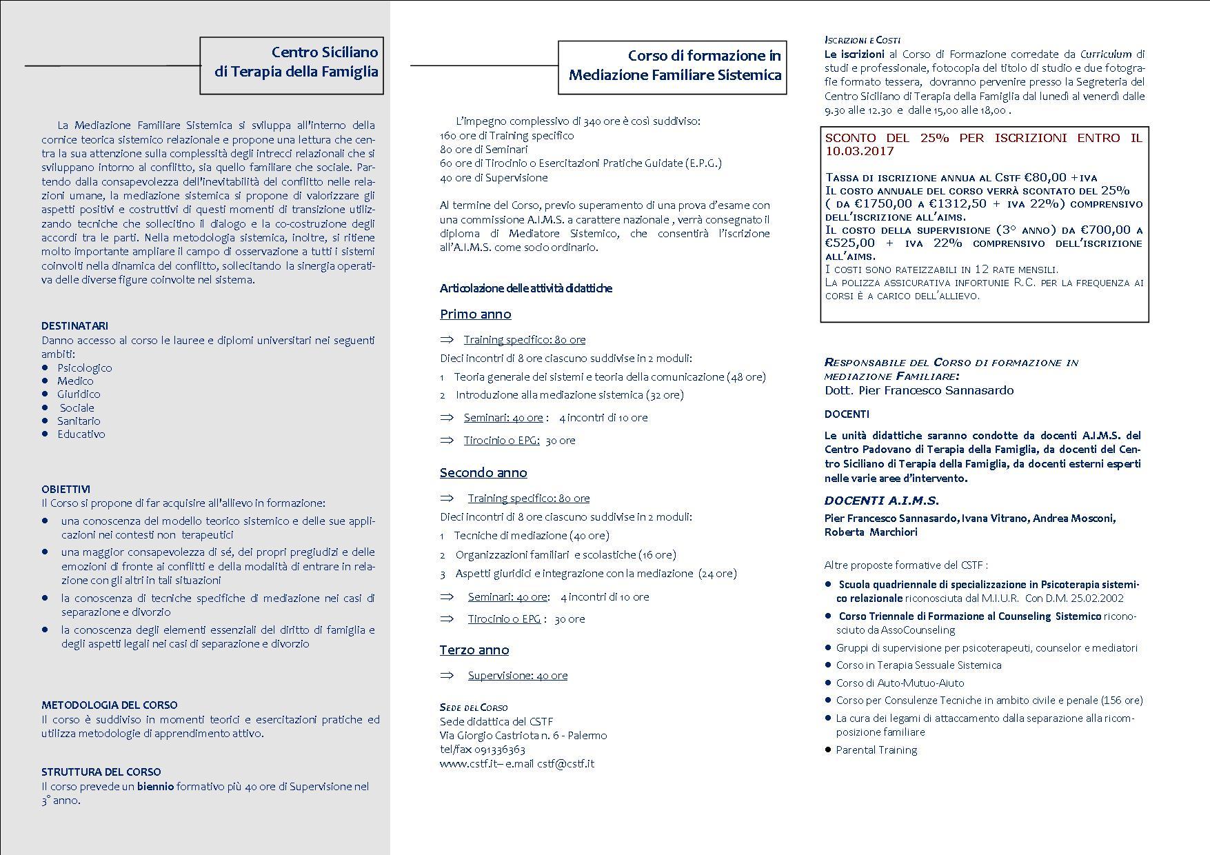 Brochure mediazione 2017 dentro